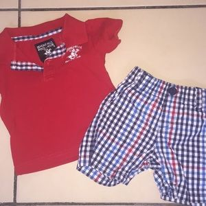 Matching Infant Outfit